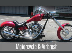 Motorcycle and Airbrush Design